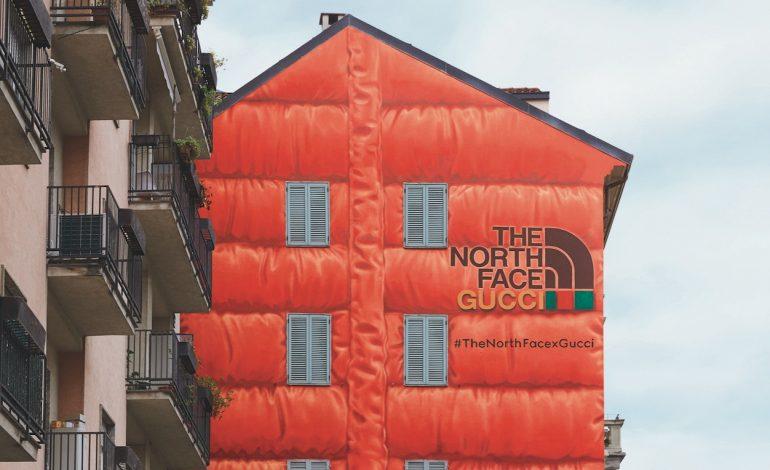 La collezione Gucci x The North Face arriva in corso Garibaldi
